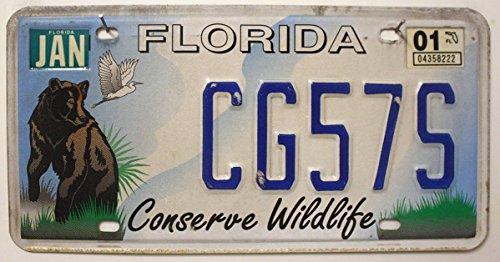 USA Nummernschild FLORIDA # US Kennzeichen License Plate # KFZ Blechschild