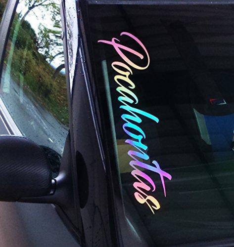 Frontscheibenaufkleber 55cm Oilslick Hologramm Folie (Wow-lichter Halloween)