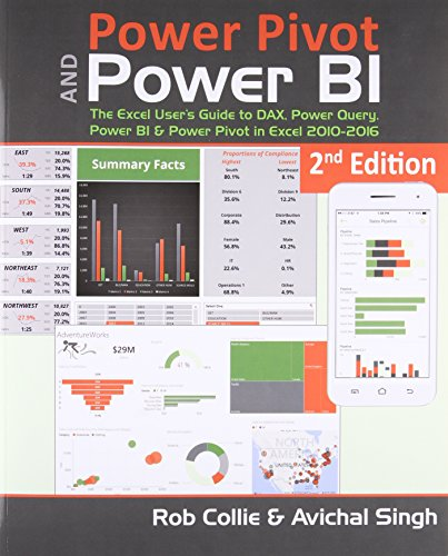 Power Pivot and Power Bi: The Excel User's Guide to Dax, Power Query, Power Bi & Power Pivot in Excel 2010-2016 di Rob Collie