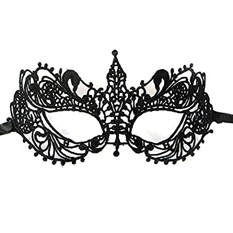FIODAY Women Special Bat Design Masquerade Prom Mask Cosplay Costume Holloween Balls Fancy Lace Cutout Mask by