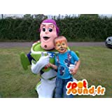 Mascota SpotSound Amazon a Buzz Lightyear personalizable, famoso personaje de Toy Story
