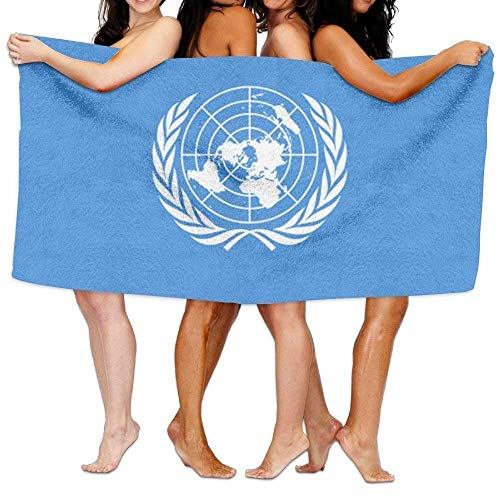 fengxutongxue Beach Towel Flag of The United Nations 80