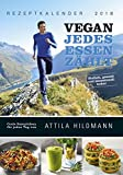 Produkt-Bild: VEGAN - Jedes Essen zählt 2018 - Rezeptkalender (24 x 34) - Küchenkalender - gesunde Ernährung: by Attila Hildmann