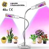 Bozily LED Pflanzenlampe - 45W Pflanzenlicht Wachsen licht