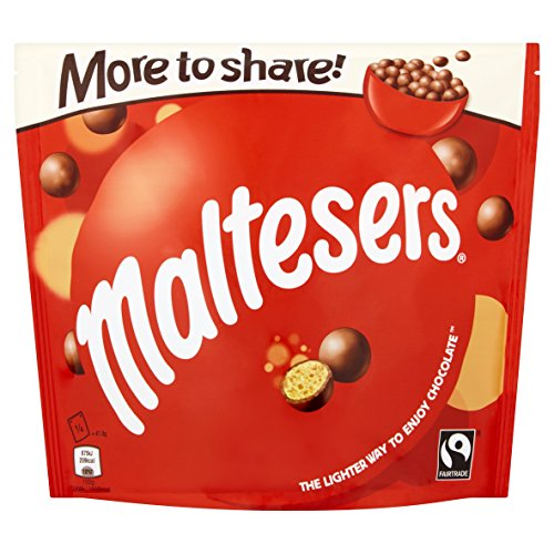 Maltesers Chocolate Sharing Pouch, 166 g