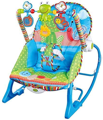 Elektra Infant to Toddler Rocker Chair with Calming Vibrations, Metal Frame