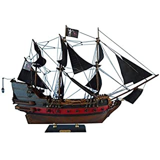 Blackbeard's Queen Anne's Revenge Limited 24 - Black Sails - Wooden Pirate Shi by Handcrafted Model Ships