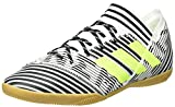 Adidas Nemeziz Tango 17.3 in, Zapatillas de Fútbol para Hombre, Multicolor (FTWR White/Solar Yellow/Core Black), 43 1/3 EU