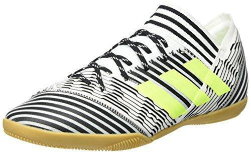 adidas Herren Nemeziz Tango 17.3 IN Fußballschuhe, Weiß (Footwear White/solar Yellow/core Black), 44 2/3 EU