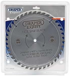 Draper 09492 Lame de scie TCT 40 dents 254 x 16 mm (Import Grande Bretagne)