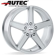 Aluminio Llanta autec Delano Volkswagen Golf V Variant 1KM 8.0x 19Cristal Plata