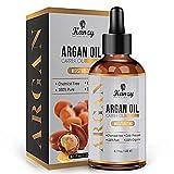 Moroccan Huile d'Argan | Argan Oil BIO pour Cheveux Visage & Peau hydratant anti-âge...