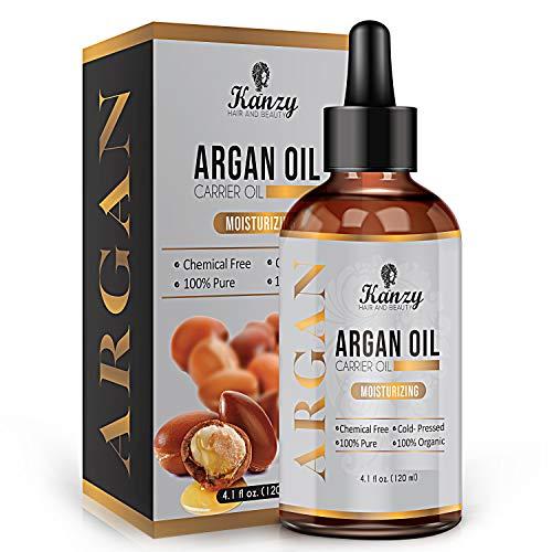 Moroccan Huile d'Argan | Argan Oil BIO pour Cheveux Visage & Peau hydratant anti-âge et antirides.