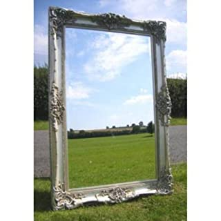 Ayers and Graces Large Silver Gilt Monaco Mirror (7ft x 4ft)