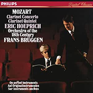 Mozart : Concerto pour clarinette / Quintette pour clarinette