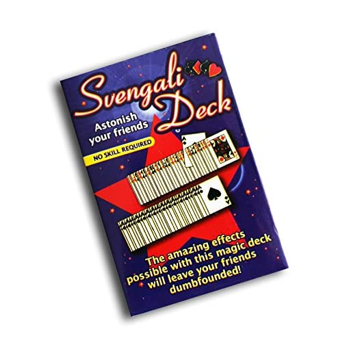 Svengali-Deck-Zaubertrick-Kartenspiel-Gezinkte-Karten Svengali Deck, Zaubertrick-Kartenspiel, Gezinkte Karten -