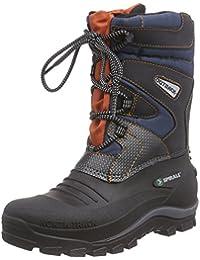 Spirale Falk - botas de nieve cn forro y caña corta de material sintético Unisex adulto