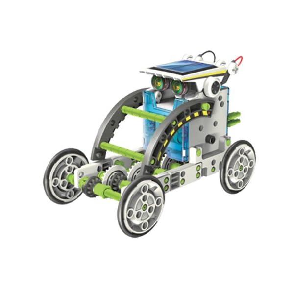 51LCGRfbXQL. SS600  - itsImagical 14X1 Eco-Robot - Kit para construir robots solares, unisex