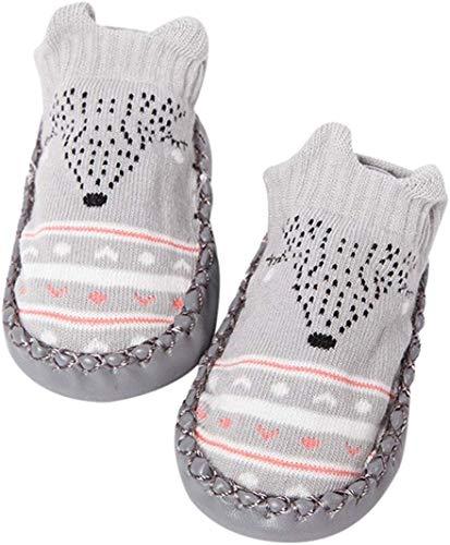 MERSUII Cartoon Neugeborenes Babyschuhe M?dchen Jungen Anti-Slip Socken Slipper Stiefel