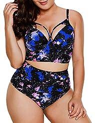 Bikini Mujer 2019 Push Up Logobeing, Tankinis Mujer Tallas Grandes Bikini de Cintura Alta para Mujer Trajes de Bañowimsuitwimwear Bañadores