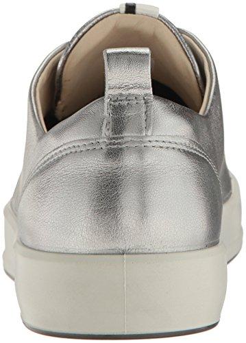 Ecco Damen Soft 8 Ladies Sneakers Silber (1708ALUSILVER)