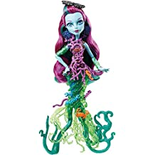 Monster High DHB48- Bambola Posea Reef, Multicolore