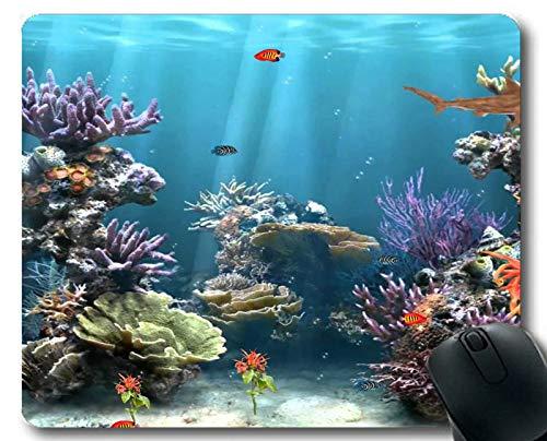 Personalisiertes Mauspad mit tropischem Fisch