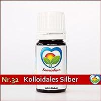 Sonnenglobuli Nr. 32 Kolloidales Silber 100% von Sonnenherz - feinstoffliche energetische Lichtglobuli preisvergleich bei billige-tabletten.eu