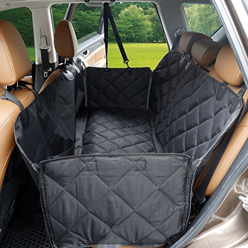 Dog Seat Cover With Flaps DSTANA Waterproof Car Covers For