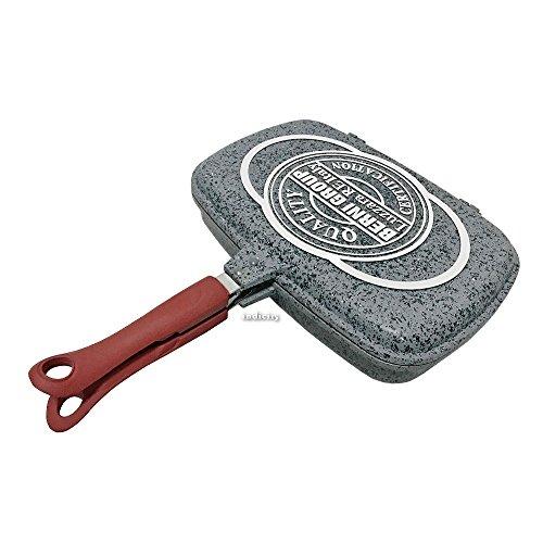 Fornetto 30 sanity stone effetto granito pentola padella doppia bistecchiera antiaderente fondo a induzione pfoa-free