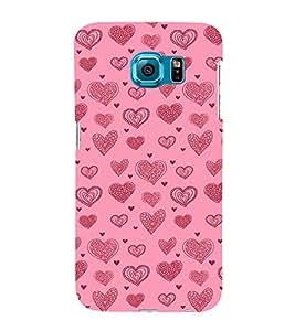 Ebby Premium 3d Desinger Printed Back Case Cover For Samsung S6 (Premium Desinger Case)