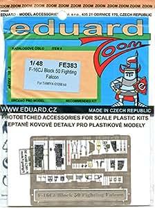 Eduard Photoetch (Zoom) 1:48 - F-16CJ Block 50 (Tamiya) - EDPFE383