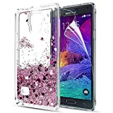 LeYi Galaxy Note 4 Case with Screen Protector, Girl Women