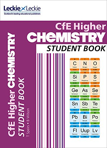 CFE Higher Chemistry Student Book High-school-lehrplan