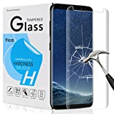 Samsung Galaxy S8 Plus Screen Protector, Yica Galaxy S8 Plus Screen [FACILE installazione] [anti-impronte] per Samsung Galaxy S8 Plus immagine