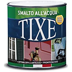 Tixe 604.501 Smalto Brillante all'Acqua, Vernice, Bianco, 500 ml