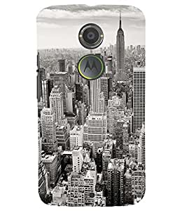 PRINTSWAG CITY Designer Back Cover Case for MOTOROLA MOTO X2