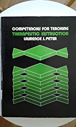 Therapeutic instruction (His Competencies for teaching ; v. 3)