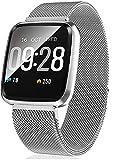 Smartwatch-Fitness-Tracker-Fitness-Armbanduhr-mit-Pulsuhren-Sportuhr-Aktivittstracker-Schrittzhler-fr-Damen-Herren-Anruf-Kompatibel-mit-IOS-und-Android