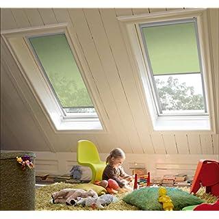 Sicht- und Sonnenschutzrollo für Velux Fenster - sun collection - Profile silber - CK 04