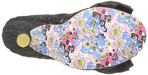 Irregular Choice Mal E Bow Damen Pumps Noir (Black Lace)