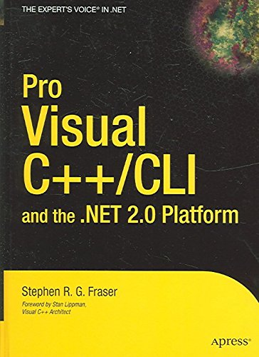 [(Pro Visual C++/CLI and the .NET 2.0 Platform)] [By (author) Stephen R.G. Fraser] published on (December, 2005)