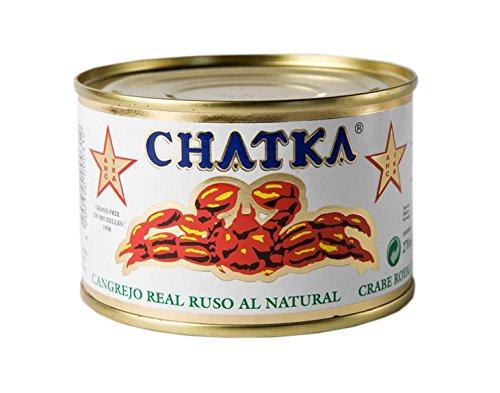 Chatka Königskrabbe 60% Beinfleisch (Dose) (220 g)