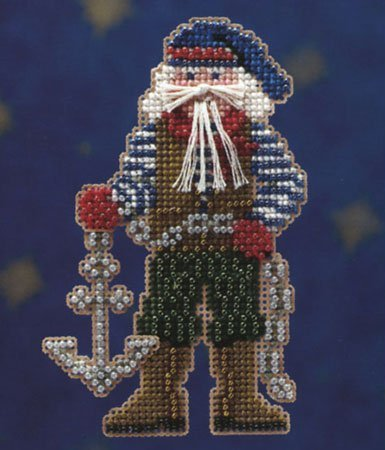 Ornament Kit: Seafaring Santas - Boatswain Santa (Kit Ornament Santa)