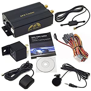 XCSOURCE GPS Car Tracker with GPRS and Vehicle Theft Protection System