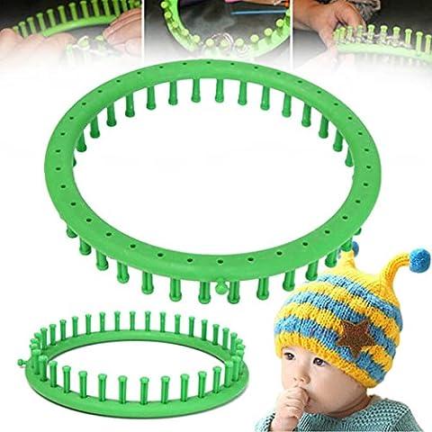 Yongse 36 Pioli fai da te di lavoro manuale di figura rotonda di lana filati per maglieria Loom Cappello maglione calzino sciarpa Tessitura Tool