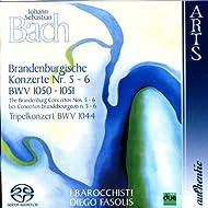 Johann Sebastian Bach: The Brandenburg Concertos No. 5-6, BWV 1050-1051 & Triple Concerto BMV 1044