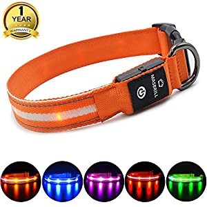 * DC Rechargeable * 100% Waterproof * High visibility Reflective With LED Flashing lights * Nylon Material Made ,You can use in with you leash. * Breathable Material - It can use any weather