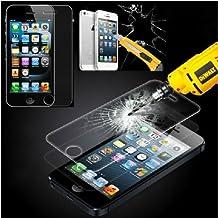 Demarkt Protector de Pantalla para Iphone 5/5S/5C Cristal Vidrio Premium Templado