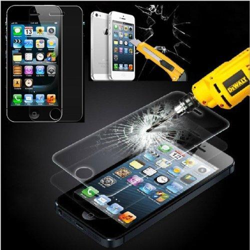 PROTECTOR DE PANTALLA PARA IPHONE 5/5S/5C/SE CRISTAL VIDRIO TEMPLADO PREMIUM DE ELECTRONICA REY®